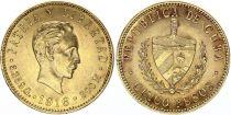 Cuba 5 Pesos  - José Marti - 1916 Gold