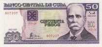 Cuba 50 Pesos C.G. Iniguez - Biotechnologie
