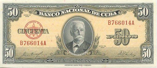 Cuba 50 Pesos C.G. Iniguez