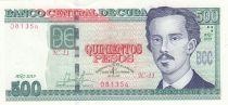 Cuba 500 Pesos - Ignacio Agramonte- 2019 - UNC - P.131