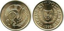 Cyprus 1 Cent Bird