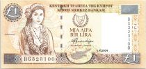 Cyprus 1 Pound Cypriot - Handcrafts - 2004
