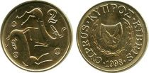 Cyprus 2 Cent Goats - 1998