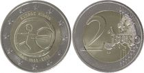 Cyprus 2 Euro 10 years of EMU  - 2009