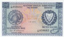 Cyprus 250 Mils Fruits - Mine - 1972 - UNC - P.41b