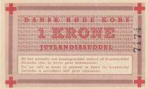 Danemark 1 Krone ND1947-58 - Croix Rouge