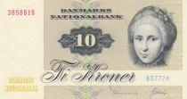Danemark 10 Kroner C. S. Kirchhoff - Canard - 1977 Série B5