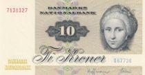 Danemark 10 Kroner C. S. Kirchhoff - Canard - 1977 Série B6 - p.Neuf - P.48