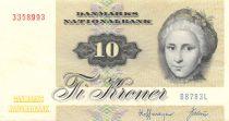 Danemark 10 Kroner C. S. Kirchhoff - Canard - Sign. Hoffmeyer- 1978 Série B8 - TTB+