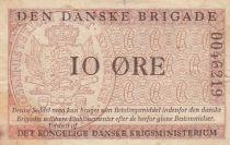 Danemark 10 Øre ND1947-58 - Den Danske Brigade - 2ème ex