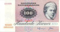 Danemark 100 Kroner, Jens Juel - Papillon - 1976 A6