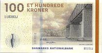 Danemark 100 Kroner Pont - Jarre - 2015 - P.66d - Neuf