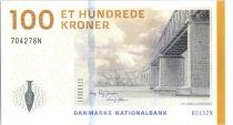 Danemark 100 Kroner Pont - Jarre - 2015