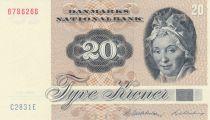 Danemark 20 Kroner, Pauline Tutein - Moineaux - 1983 Série C2