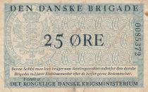 Danemark 25 Øre ND1947-58 - Den Danske Brigade