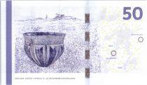 Danemark 50 Kroner Pont - Jarre 2014