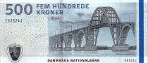 Danemark 500 Kroner Pont - Jarre - 2016 (2018) - P.68e - Neuf