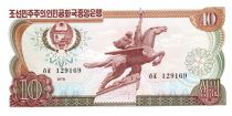 Democratic People´s Republic of Korea 10 Won Statue Chollima - 1978