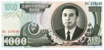 Democratic People´s Republic of Korea 1000 Won Kim Il Sung - 2006