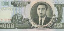 Democratic People´s Republic of Korea 1000 won Kim Il Sung