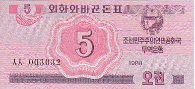Democratic People´s Republic of Korea 5 Chon Pink