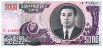 Democratic People´s Republic of Korea 5000 Won Kim Il Sung - 2006