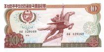 Demokratische Volksrepublic Korea 10 Won Statue Chollima - 1978