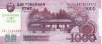 Demokratische Volksrepublic Korea 1000 Won House - 1948-2018