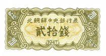 Demokratische Volksrepublic Korea 20 Chon Green - 1947