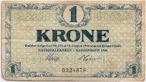 Denmark 1 Krone 1916 - Fine - P.12a
