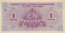 Denmark 1 Krone ND1945 - Allied Kommando in Denmark