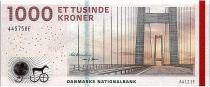 Denmark 1000 Kroner Bridge - 2012 - P.69b - UNC