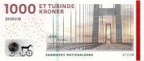Denmark 1000 Kroner Bridge - 2013 - P.69c - UNC