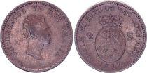 Denmark 2 Skilling,  Frederic VI - 1811