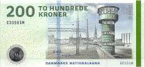 Denmark 200 Kroner Tower - 2016 (2018) - P.67f - UNC