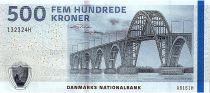 Denmark 500 Kroner Bridge - 2016 (2018) - P.68e - UNC