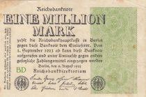 Deutschland 1 000 000 Mark 1923  - Serial BD