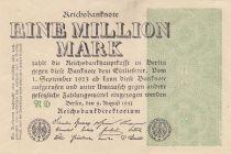 Deutschland 1 000 000 Mark 1923  - Serial ND
