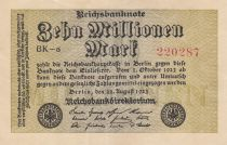 Deutschland 10 000 000 Mark 1923 - Serial BK-8