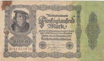 Deutschland 50000 Mark Burgermaster Brauweiler - 1922 Serial A