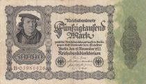 Deutschland 50000 Mark Burgermaster Brauweiler - 1922 Serial B