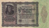 Deutschland 50000 Mark Burgermaster Brauweiler - 1922 Serial C