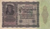 Deutschland 50000 Mark Burgermaster Brauweiler - 1922 Serial D