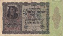 Deutschland 50000 Mark Burgermaster Brauweiler - 1922 Serial E