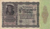 Deutschland 50000 Mark Burgermaster Brauweiler - 1922 Serial J