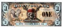 Disney Dollars 1 Disney Dollar, Pirates de Caraibes - 2011