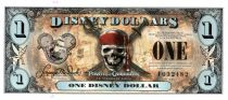 Disney Dollars 1 Disney Dollar, Pirates of the Caribbean - 2011