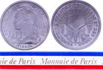 Djibouti 1 Franc - 1969 - Test Strike - Afars and Issas (Djibouti)