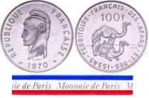 Djibouti 100 Francs - 1970 - Test Strike - Afars and Issas (Djibouti)