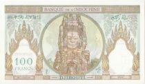 Djibouti 100 Francs - Statue of Angkor - Djibouti 1938- Specimen - UNC